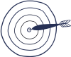 rs Bullseye target board
