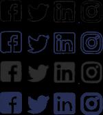 rs Social Media Icons